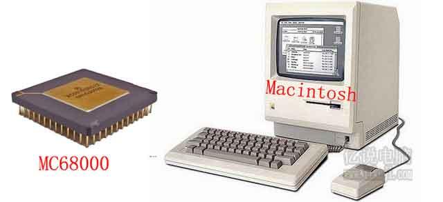 第一台草果电脑Macintosh