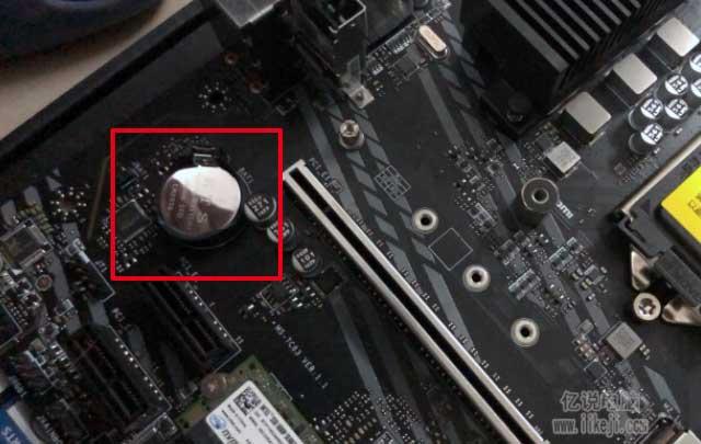 电池在主板的位置