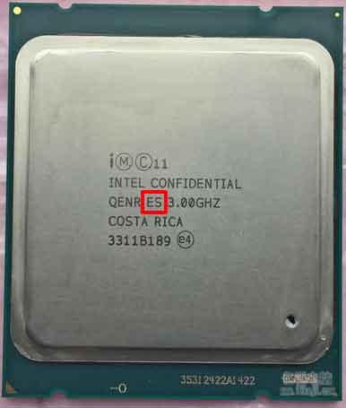 ES版CPU