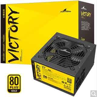 长城850W GX 80Plus认证金牌全模组电源