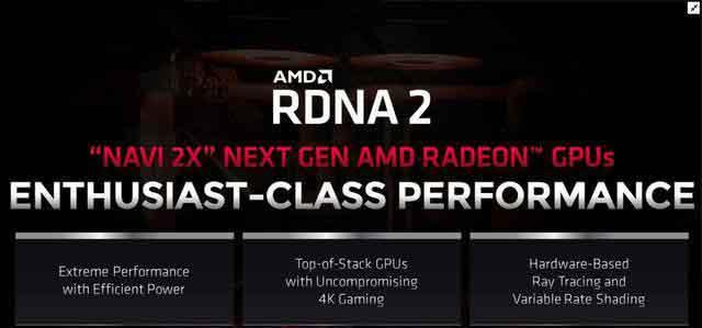 AMD RDNA2架构