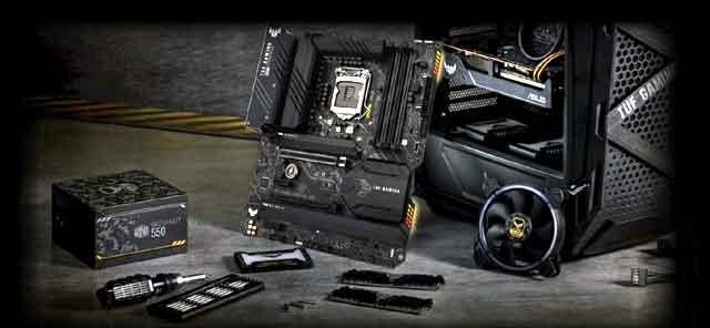 支持英特尔第11代酷睿桌面处理器的芯片组