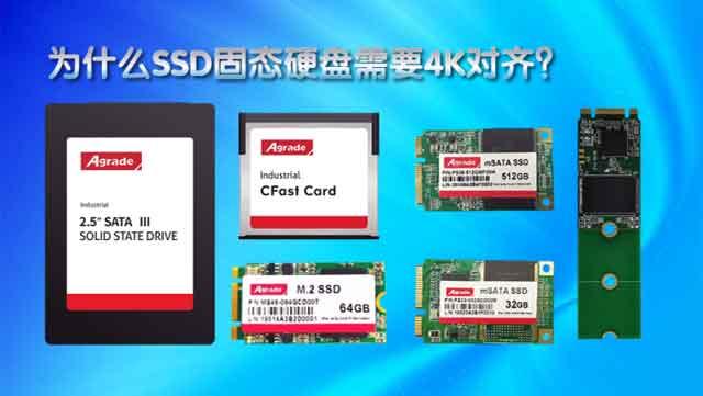 新固态硬盘一定要进行4K对齐