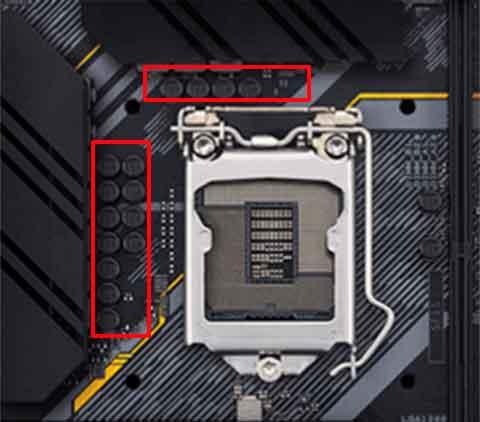 主板的CPU供电