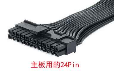 主板电源是24Pin